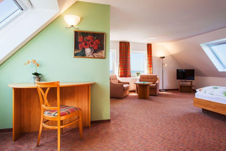 Doppelzimmer-Seeblick-Komfort Insel Neuwerk